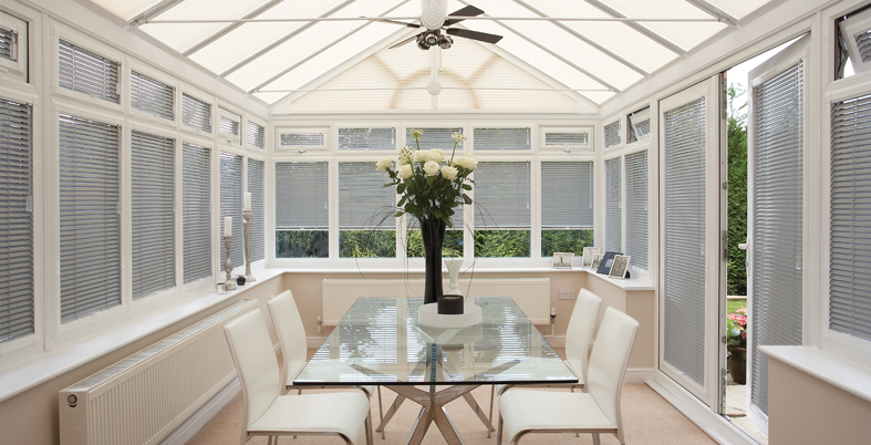 Conservatory blinds: essential part of home decor