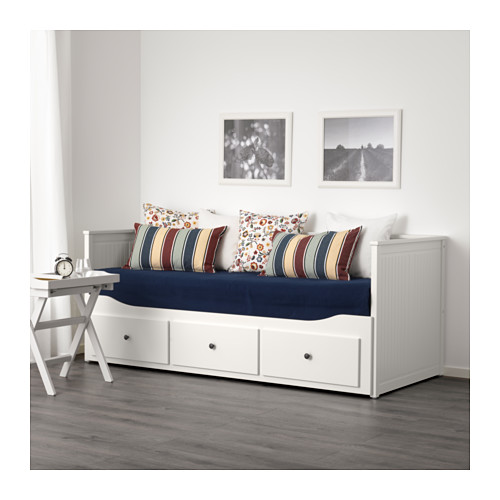 Chic day bed hemnes daybed frame with 3 drawers - ikea trepktl