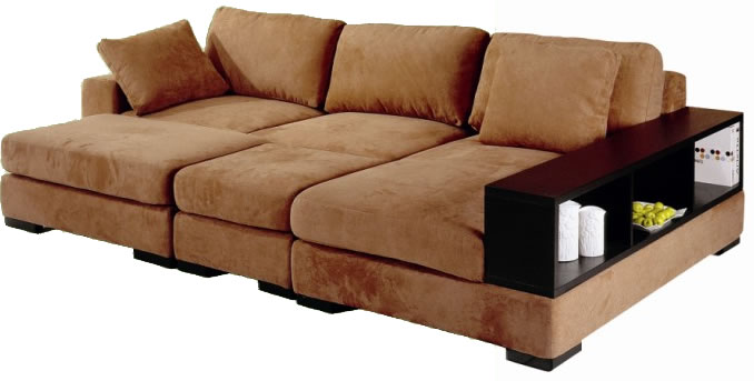 Chic fabric sectional sofa bed chicago furniture jkcqwlq