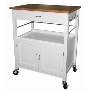Chic kitchen carts guss kitchen island cart with natural butcher block bamboo top oixsuid