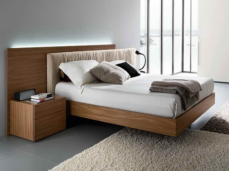 Chic modern beds modern bed frames: what you can set in big size models - http:/ sumupok