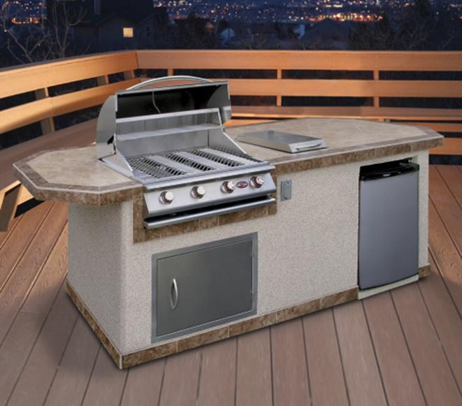 Chic outdoor kitchen kits cal flame , yhxyejr
