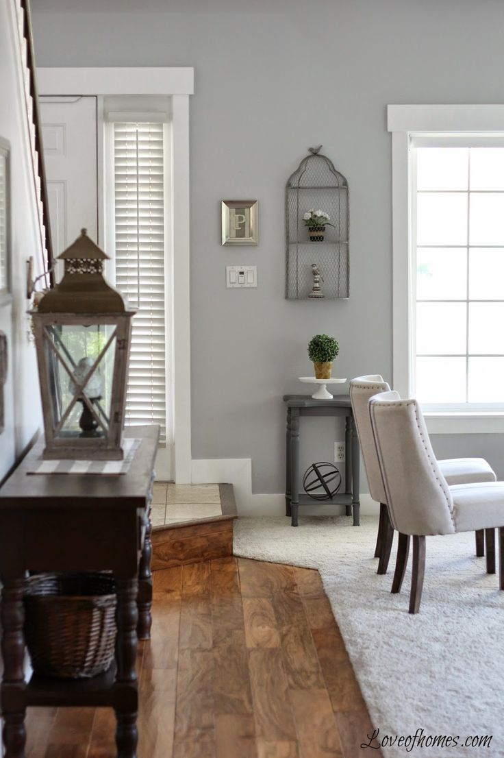 Chic paint colors for living room love the colors in this room - benjamin moore pelican grey pywlylj