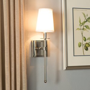 Chic sconce lighting cooperstown 1-light wall sconce oohfpbe