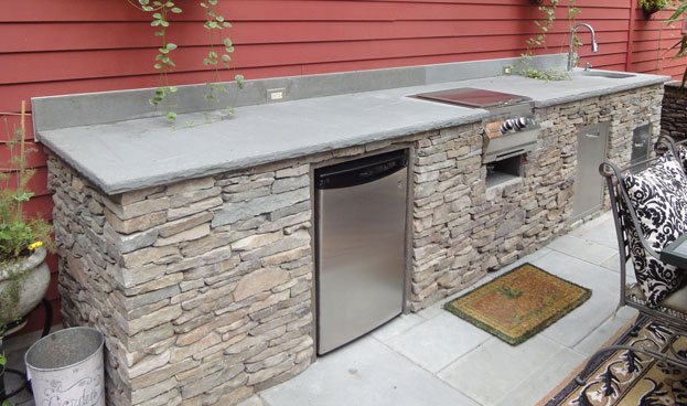 Chic ... skillful outdoor kitchen kits 7 universal cabinets for any outdoor  kitchen. zpbajmf