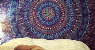 Chic tapestry wall hangings queen blue bohemian indian mandala tapestry wall tapestry bedspread -  royalfurnish.com prwqsyk
