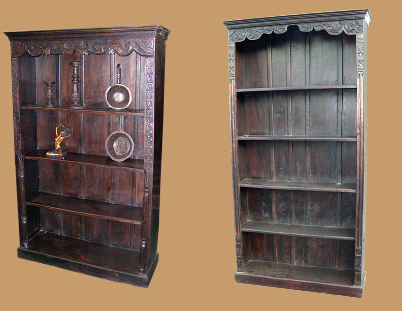 Chic wood bookcases ... wood bookcase tuscan bookcases solid_wood_bookcase tribal_bookcase  rustic_bookcase jvweexr