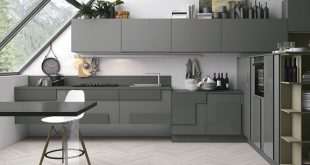 Collection 40 gorgeous grey kitchens apwydah