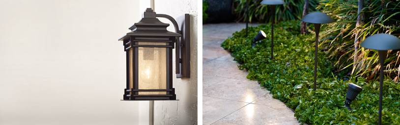 Collection exterior lighting outdoor lighting - bright looks for the porch, patio u0026 exterior areas klaenjs