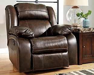 Collection leather recliner chair living room furniture item on a white background cziipmd