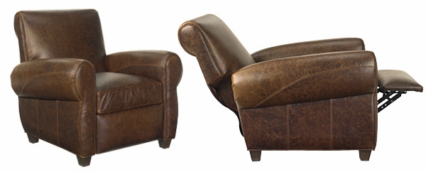Collection leather recliner chair tribeca  aimnmwx