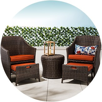 Collection of patio furniture sets dining sets · conversation sets · small-space patio furniture ... cjzlghf