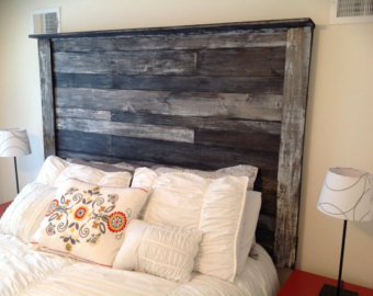 Collection of wooden headboards rustic wood headboard fxanlyc