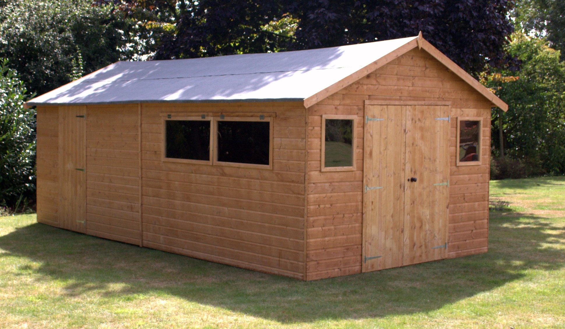 Collection of wooden sheds it helps in saving your time and money. you can do work under amiqfio