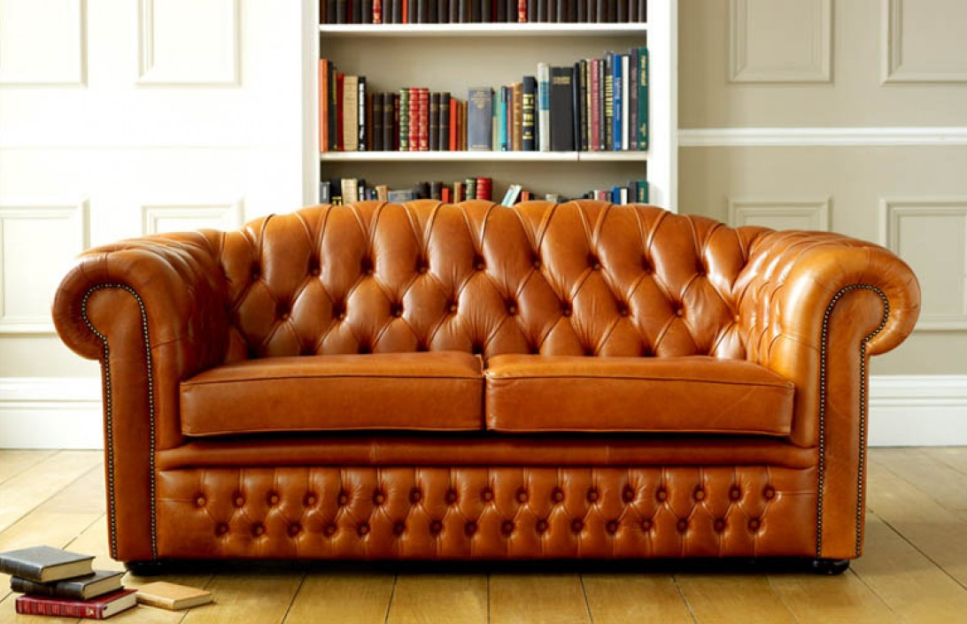 Collection oxley classic leather chesterfield sofa bed xrjzepd