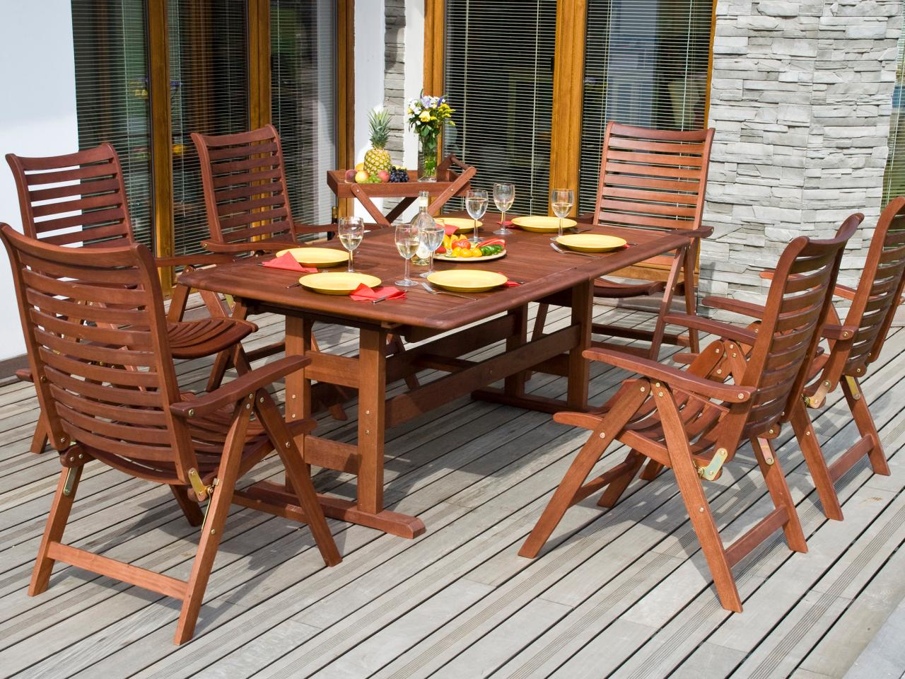 Collection teak patio furniture winuduo