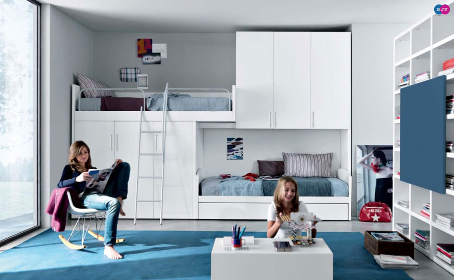 Collection white beds for teens white bunk beds for teens ktyskft