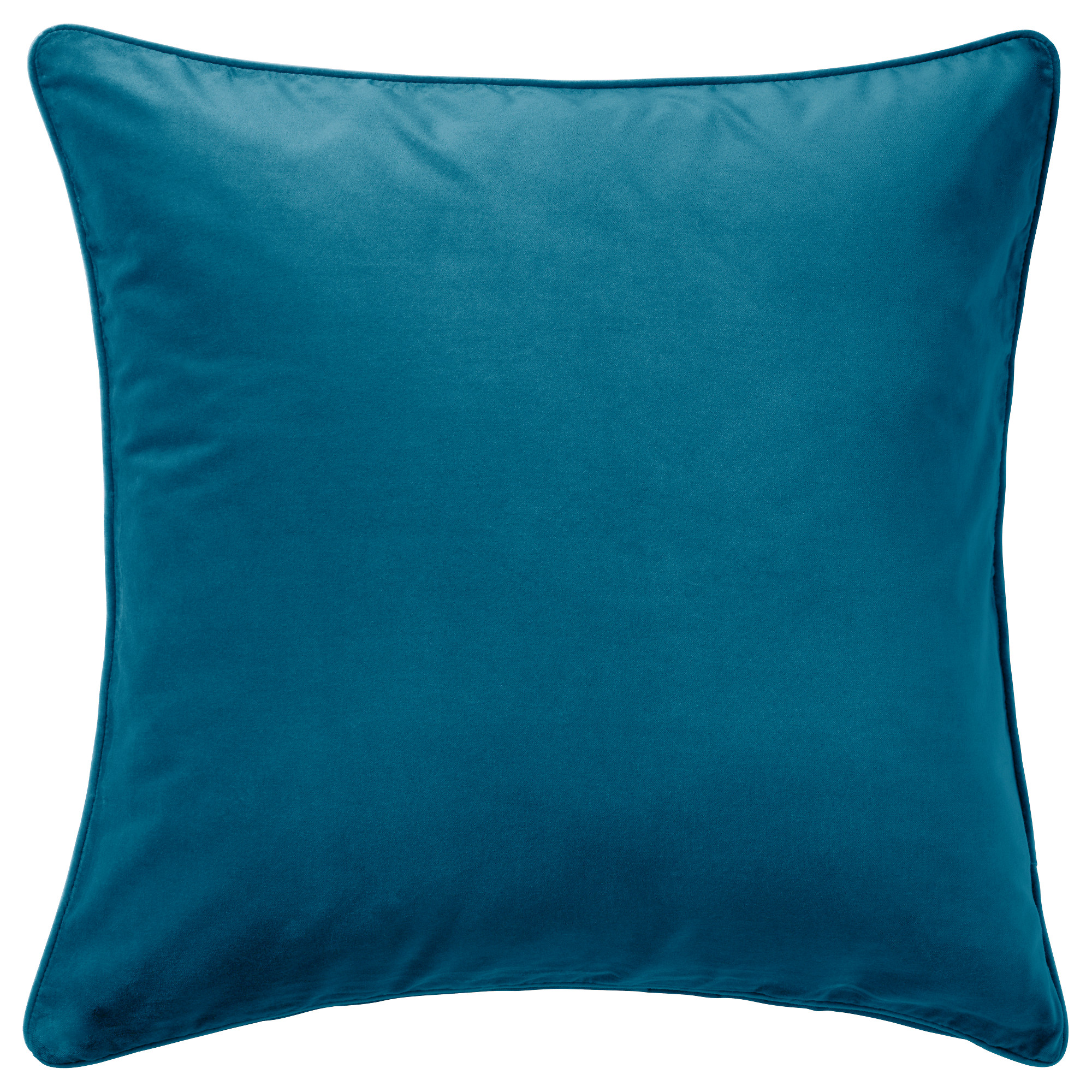 Compact cushion covers sanela cushion cover, dark turquoise length: 26  eswruaw
