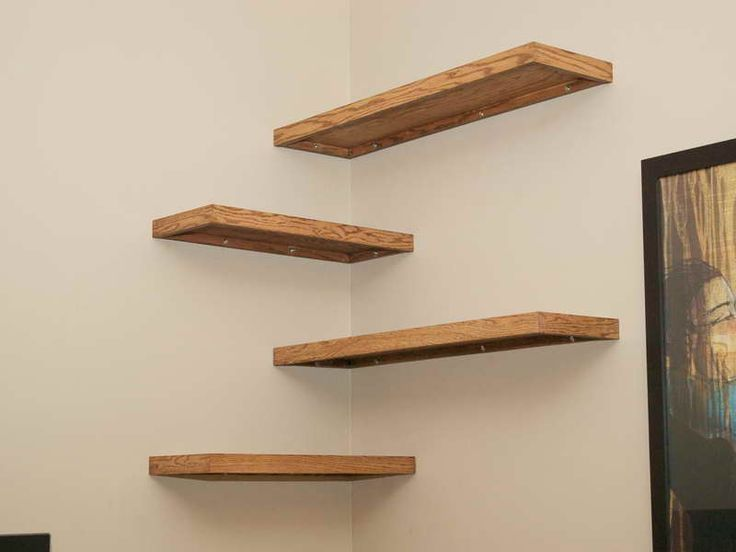 Compact floating wall shelves furniture, diy wood floating corner wall shelf for spacesaver small bedroom  or uodcwtb