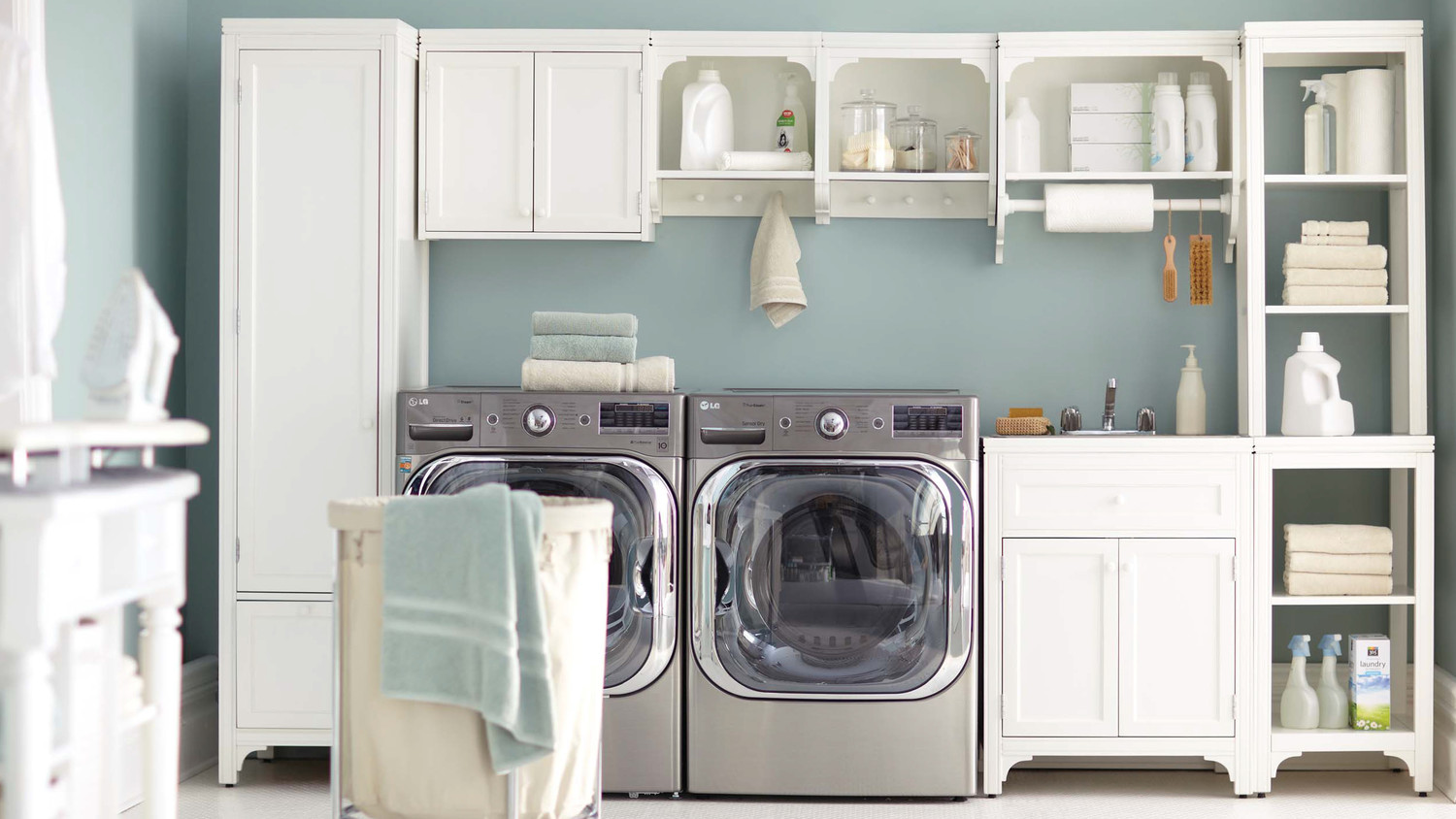 Compact laundry room 12 essential laundry-room organizing ideas | martha stewart evvoqzi