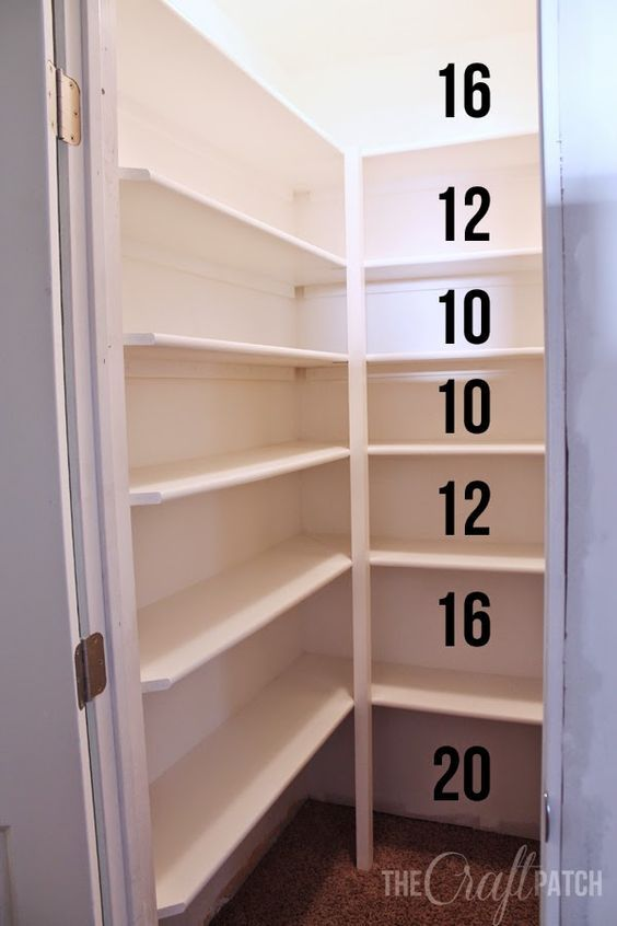 Compact pantry shelving how to build strong pantry shelves. tips for how far apart to space jvsrpau