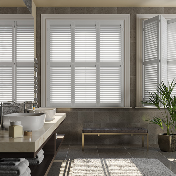 Compact san jose pure white shutter blinds izpbeab