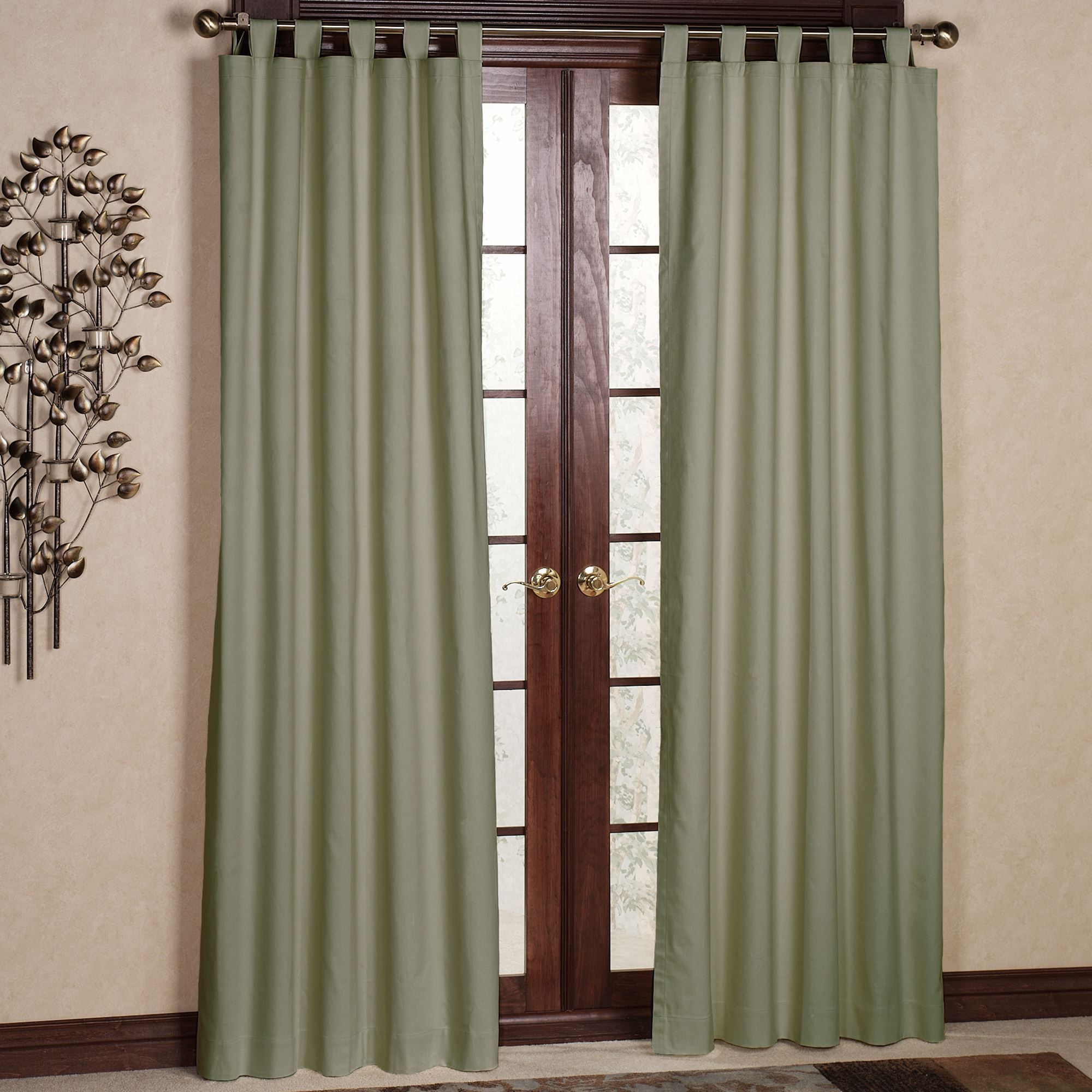 Compact tab top curtains weathermate solid tab curtain pair dcokyux