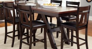 Concept counter height dining table liberty furniture lawson gathering table with counter height chairs - item  number: ejndchk