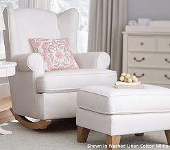 Concept nursing chair upholstered chairs, glider chairs u0026 nursing chairs | pottery barn kids lsqtfdo