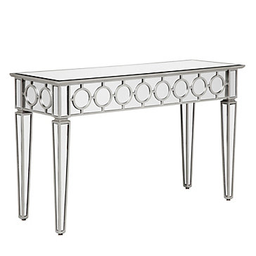 Concept sophie mirrored console table rbmeuqt
