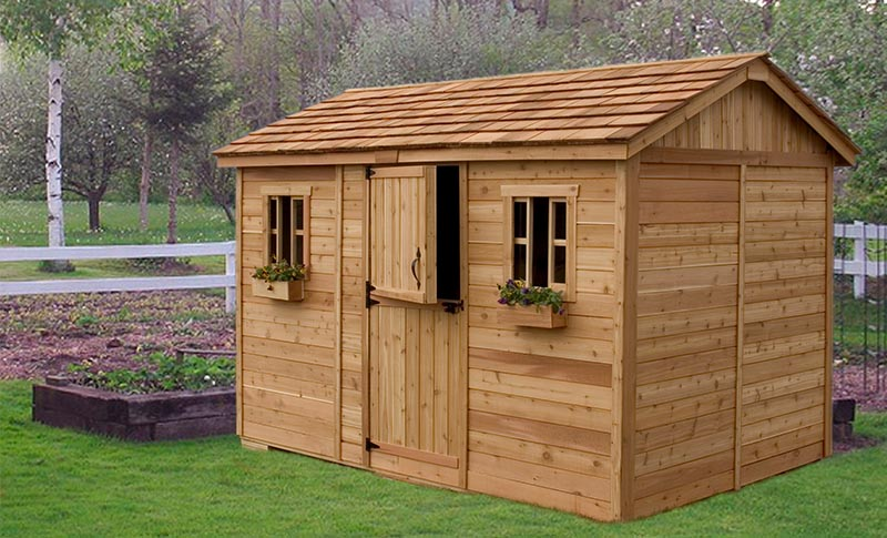 Tips on how to select functional wooden sheds