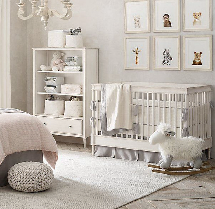 Contemporary baby room decor adorable nursery decor idea 41 psqeyld
