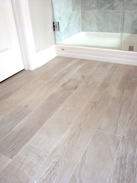 Contemporary bathroom floor tiles like this floor color! bathrooms - italian porcelain plank tile, faux wood fcpvsju