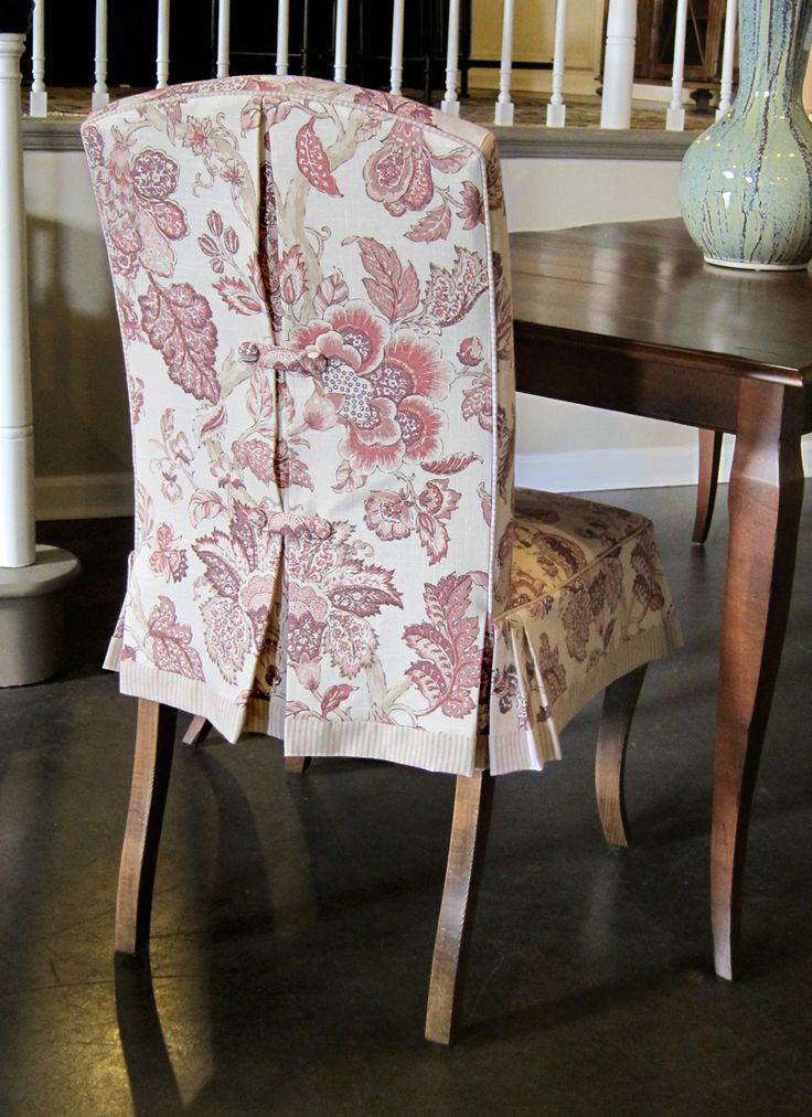 Contemporary chair covers capeville skirted dining chair by designmaster - toms-price home furnishings hmocszq