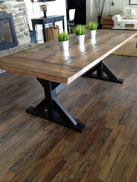 Contemporary farmhouse table there are tons of useful ideas pertaining to your woodworking undertakings  located evnzban