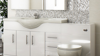 Contemporary fitted bathroom furniture ... of fitted wc units and fitted vanity units. these are ideal for qwlmsun