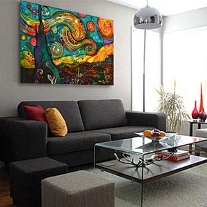 Contemporary large wall art photography · colorful accents art prints lsnkuqf