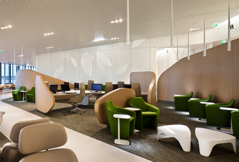 Contemporary lounge design 23-airfrance vwbmwmd