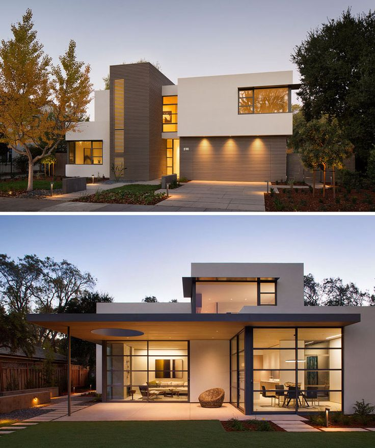 Contemporary modern home design this lantern inspired house design lights up a california neighborhood tltrnui