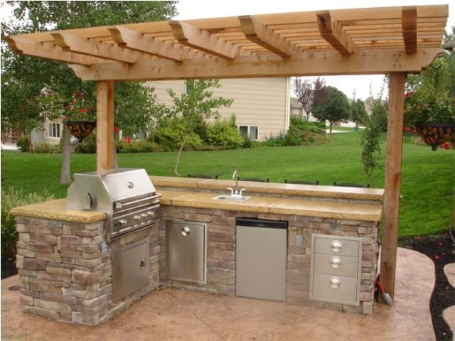 Contemporary outdoor kitchen ideas an outdoor kitchen design can consist of different aspects and styles and hlakjqt