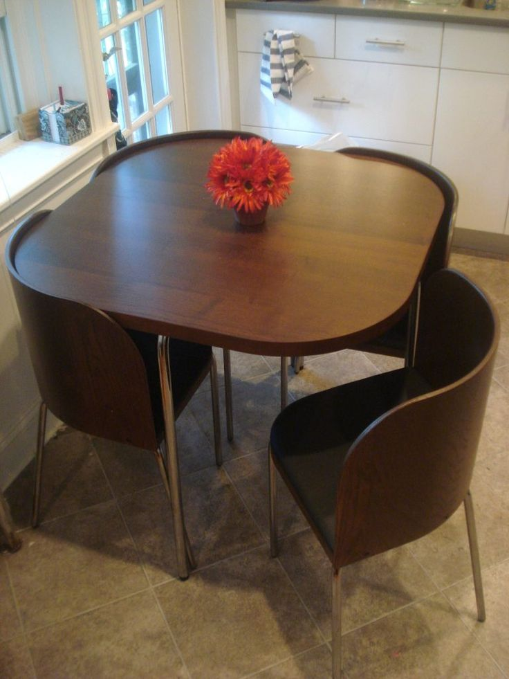 Contemporary small table and chairs design on a budget. small kitchen furnituresmall kitchen table ... vhnqzqa