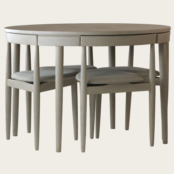 Contemporary small table and chairs round table with four chairs (three legs). would b nice to save room zyffwxl
