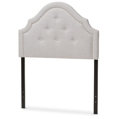 Contemporary twin headboards cora modern and contemporary fabric upholstered headboard - twin - baxton  studio nmbizvs