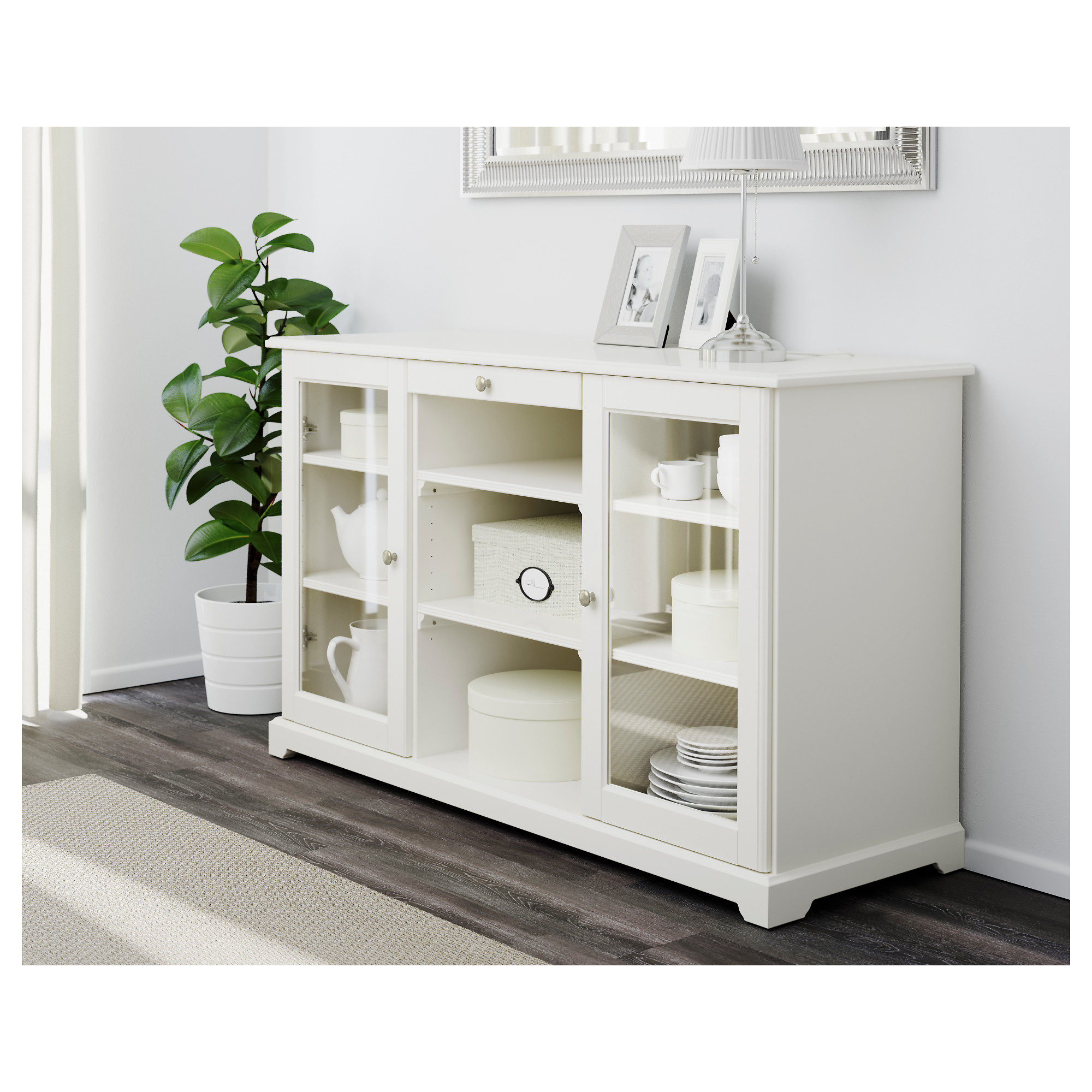 Contemporary white sideboard liatorp sideboard - white - ikea hecftsr