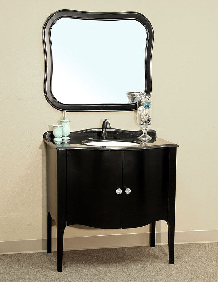 Cool bella 36 inch black bathroom vanity rpxlvno