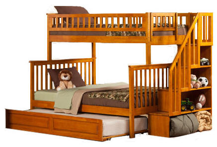 Cool bunk beds with stairs warner t/f bzpmgxl