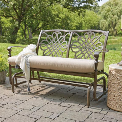 Patio chairs help set the mood and tone