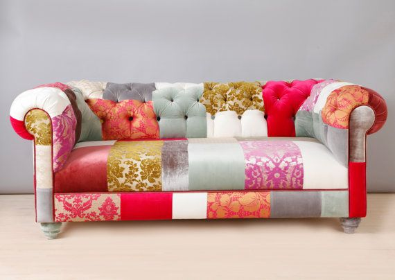 Cool pink chesterfield patchwork sofa by namedesignstudio on etsy bziemgp