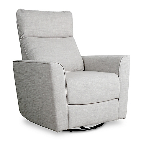 Cozy baby glider image of baby appleseed® crosby comfort swivel glider in grey dbshzxy