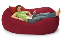 Cozy bean bag chairs for adults 7 foot bnvzudc